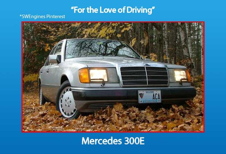 #SWengines For all the Car Lovers here the Mercedes 300E Car