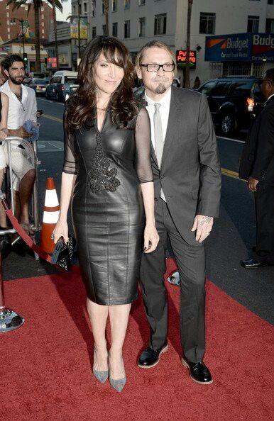 Katey Sagal and Kurt Sutter S6 SOA Premiere