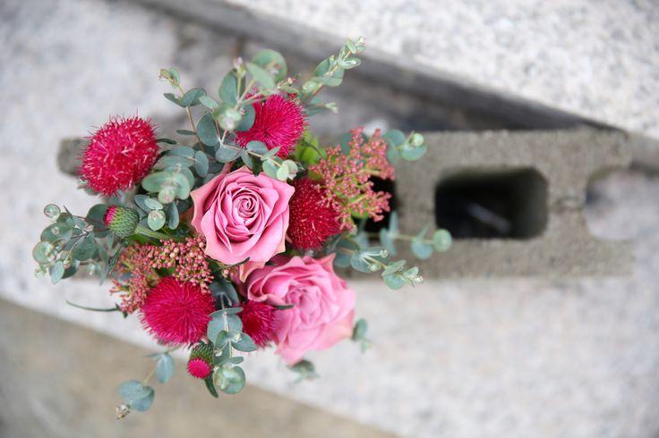 love pink roses, floral mini bouquet #fleurpium