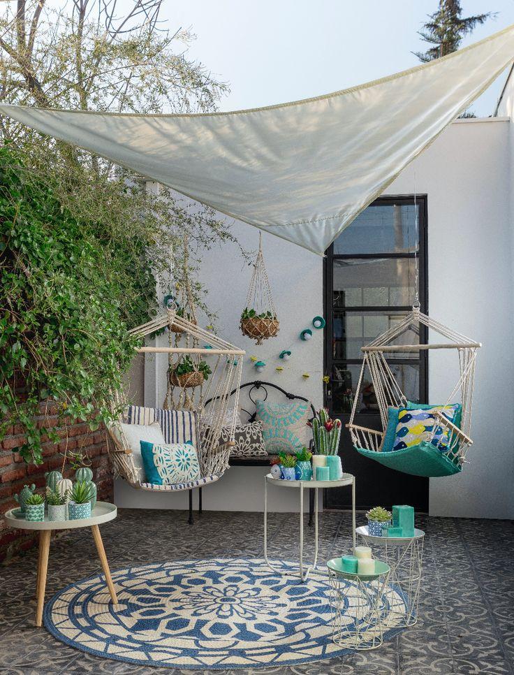 Crea tu propio espacio para relajarte y disfrutar de las tardes primaverales que se acercan. Nuestras Hamacas Sillas son la opción ideal para disfrutar de un buen libro o una entretenida conversación con amigos.