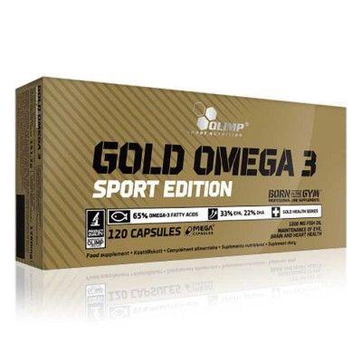 Högkvalitativ kallvattens fiskolja, rik på de viktiga fettsyrorna EPA och DHA tillhörande omättade fetter i Omega 3 familjen. Gold Omega 3 tillför ett högvärdigt tillskott av essentiella näringsämnen.