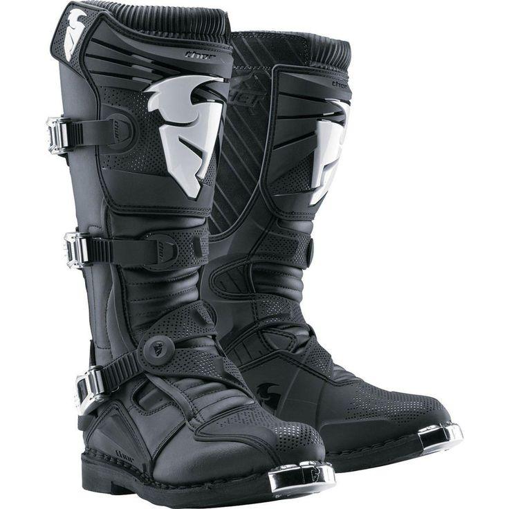 Thor 2016 Ratchet Black Boots
