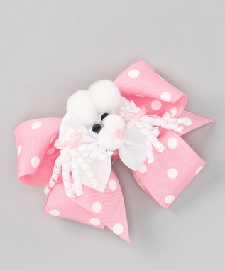 Hair Bows:) 4 steps!  1. A clip; fit for hair  2. Some ribbon  3. Shish kabob sticks; bake small ribbon on 350 so curls will stay and hold  4. Buttons, cotton balls; decorate how wanted. Examples^
