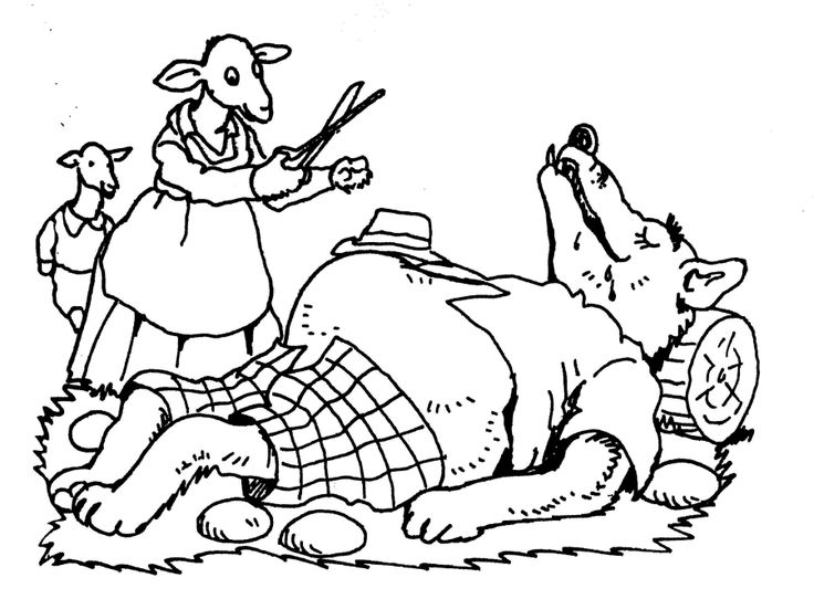 * De wolf en de 7 geitjes...