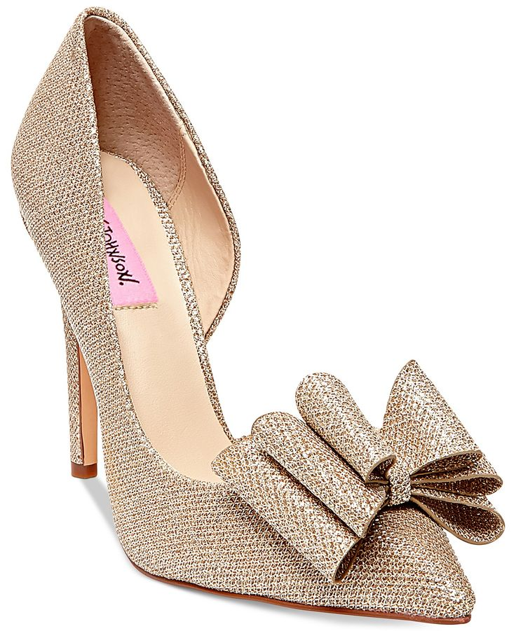 Betsey Johnson Prince d'Orsay Evening Pumps - Evening & Bridal - Shoes - Macy's