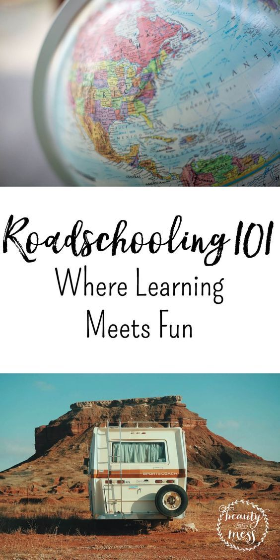 Roadschooling 101 – Where Learning Meets Fun. Is your homeschooling in a rut? Take it out on the road. Learn more about homeschooling on the road.