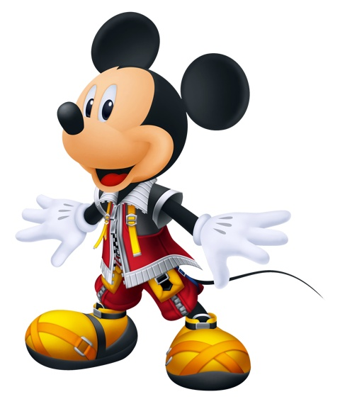 King Mickey - Kingdom Hearts