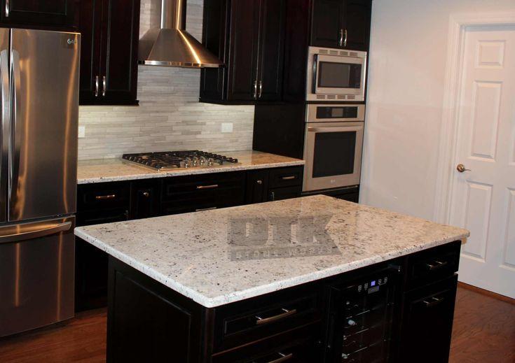 white ice granite boryana and dinko 39 s kitchen. Black Bedroom Furniture Sets. Home Design Ideas