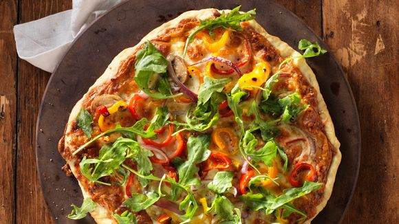 Parma-Rosa Pizza #recipe for the big game.