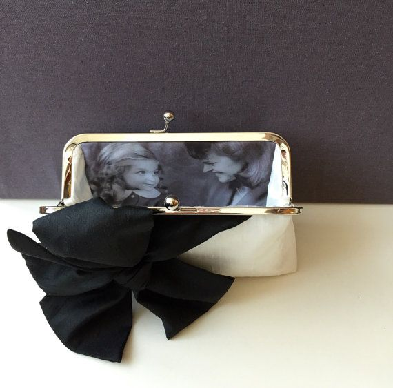 Personalized Gift, Mothers Day Gift, Photo Clutch Bag, Wedding Gift, Mother Of The Bride Gift, Bridesmaid Gift, Mother of the Groom Gift