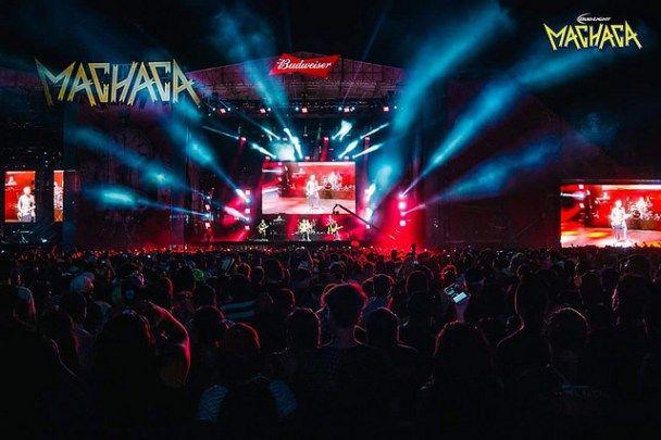 Concierto de HombresG en Monterrey Machaca Festival 2016