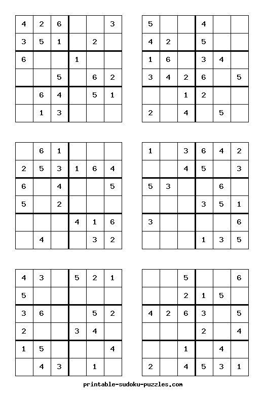 sudoku online drucken