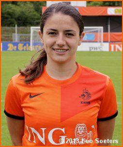 Daniëlle van de Donk (PSV/FC Eindhoven) en het Nederlands Vrouwenelftal