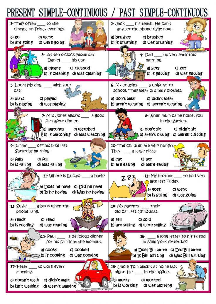 Verb tenses interactive and downloadable worksheet. Check