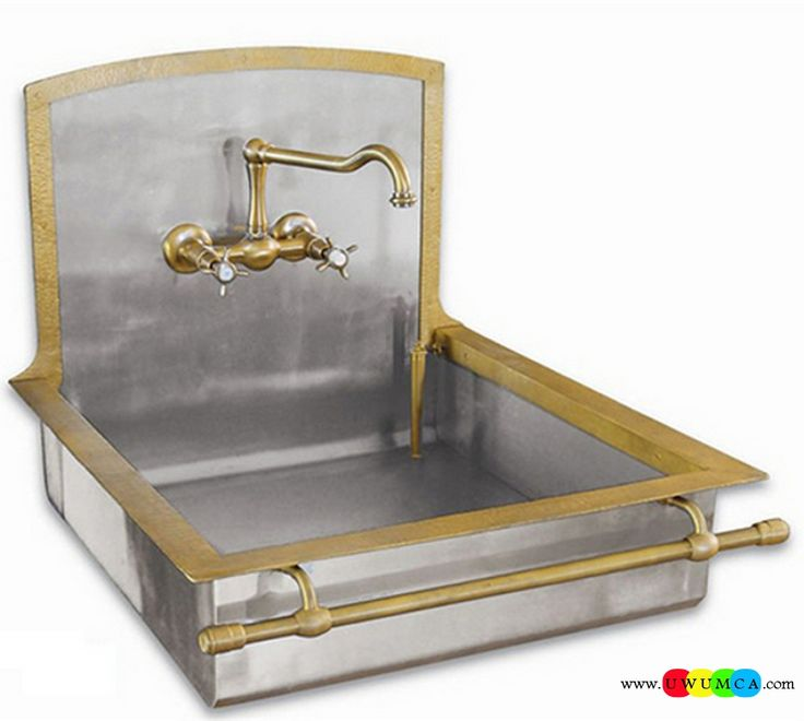 Bathroom:Old Styled Brass Sinks Contemporary Modern Artisan Crafted Sinks Handcrafted Vessel Metal Sink Bathroom Interior Furniture Decor Design Ideas (6) Eco-Conscious, Artisan Crafted Sinks Sparkle With Contemporary Class