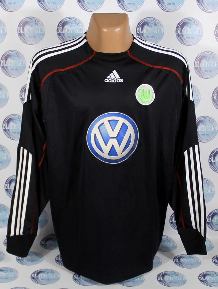 VFL WOLFSBURG 2009 2010 GOALKEEPER FORMOTION FOOTBALL SOCCER SHIRT JERSEY XL #adidas #VfLWolfsburg