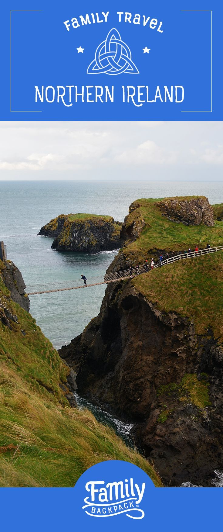 Family Travel in #Northern Ireland-  Prepare to add this beauty to your family travel #bucketlist! Castles, overnight ferries and more! Be sure to check out our #tips when #planning your next trip to Ireland. We cover #placestovisit, like the titanic in #Belfast and other adventures to keep your little ones happy!