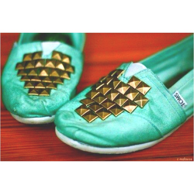 Studded Toms, for MEGAN! (It won't let me tag you, but hopefully you see this!