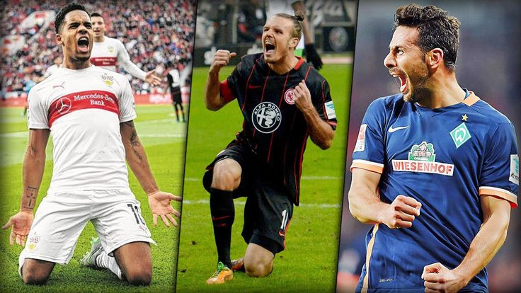 Diese Tore von Alexander Meier, Daniel Didavi und Claudio Pizarro sind eigentlich zu schade für Liga 2. Welchem Hoffnungsträger gelingt heute der Klassenerhalt?