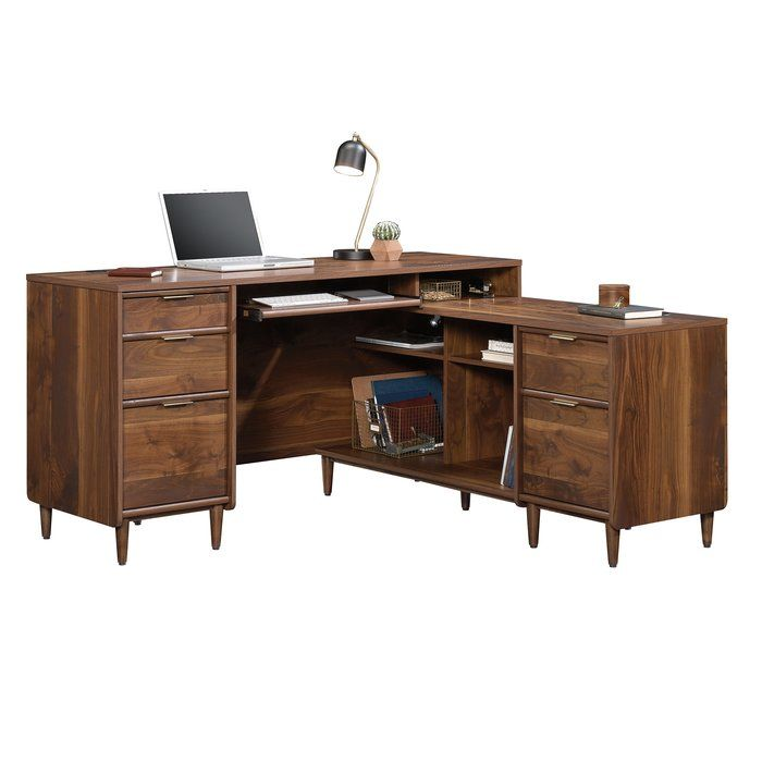 cybulski l shape executive desk in 2019 epic furniture order rh pinterest com