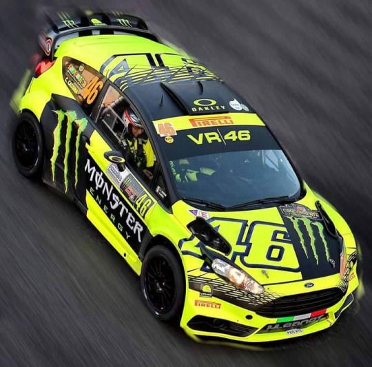 Rossi wins 2015 Monza Rally - the 4th time he has won the Monza rally!