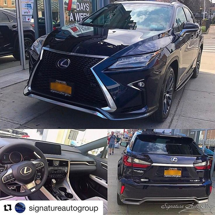 @signatureautogroup ・・・ 2017 Lexus RX450h F-Sport��Inquire for price ��Give us a call at (718) 616-2277 and drive your dream car home today! Shop online at SignatureAutoNY.com ���� #2017 #lexus  #rx450h #fsport #nyc #carporn #best #lease #price #carlease #instagram #bestofthebest #instadaily #instalike #bestoftheday #luxury For a 36 month lease, not all customers will qualify for a security deposit waiver. Tax, title license, official fees, and registration are additional fees due at…
