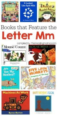 Letter of the Week Book Lists & Printable ABC Resources