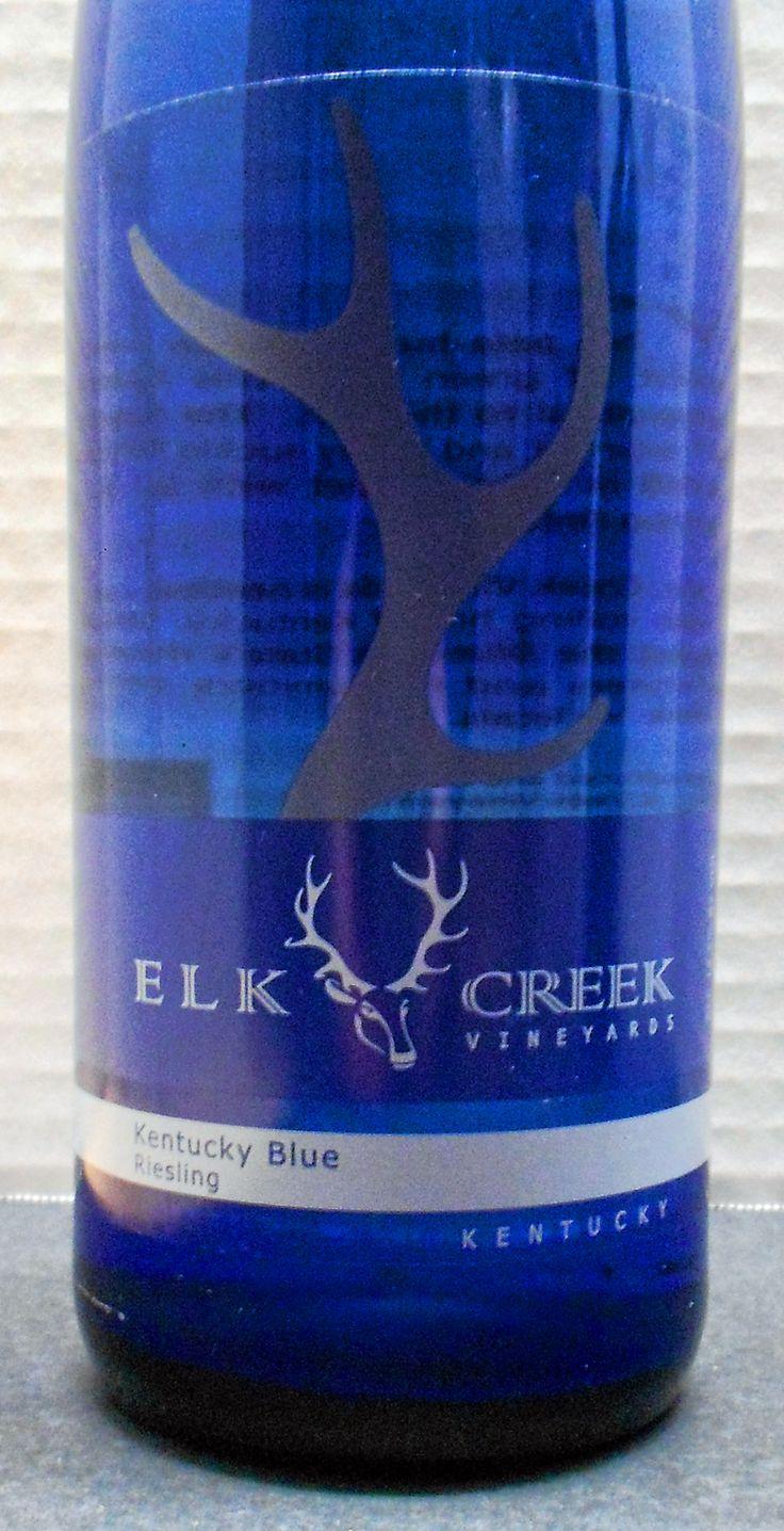 Kentucky Elk Creek Vineyards Kentucky Blue Riesling