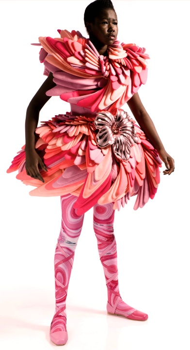 3D printed fashion by Marga Weimans - designer