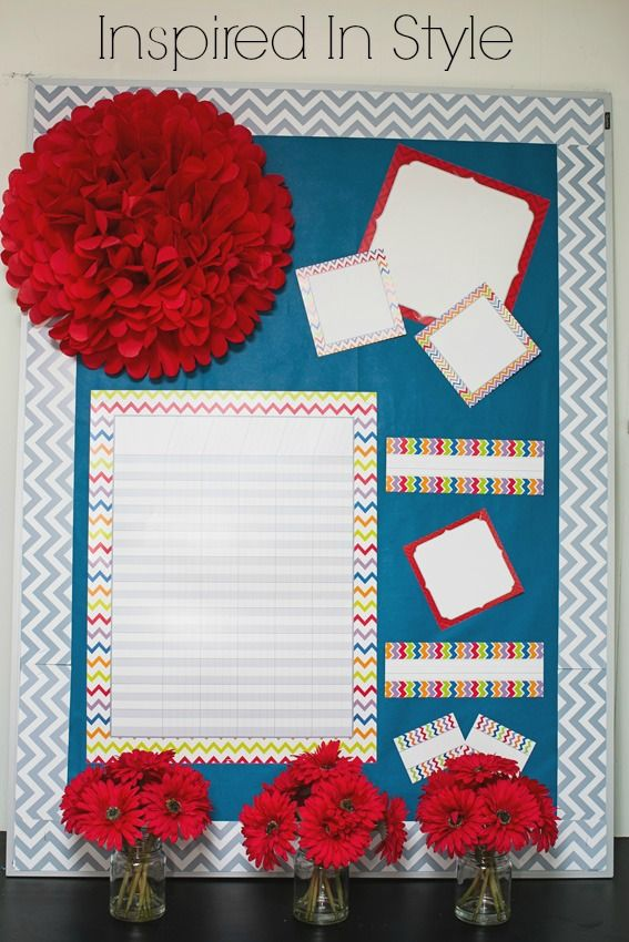Classroom Design For Bulletin Board ~ Best ideas about chevron borders on pinterest