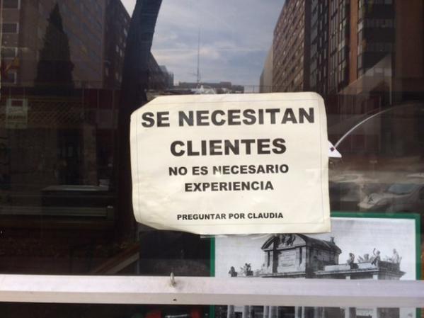 Se necesitan clientes | Mundomeme.co