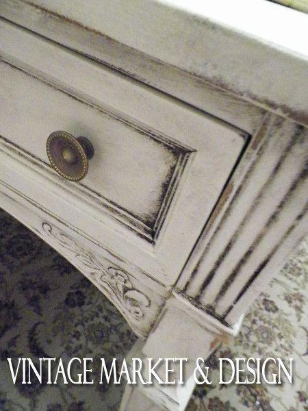Grunge It! - Aging Dust , VM&D Furniture Decorative Finish Products - Vintage Market And Design, Vintage Market And Design  - 4