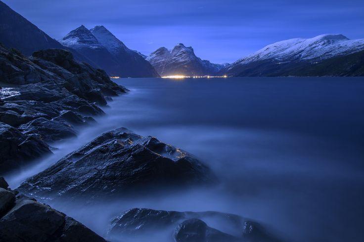 Sunndal, Norway -     Distant Flickering (by hauken87)