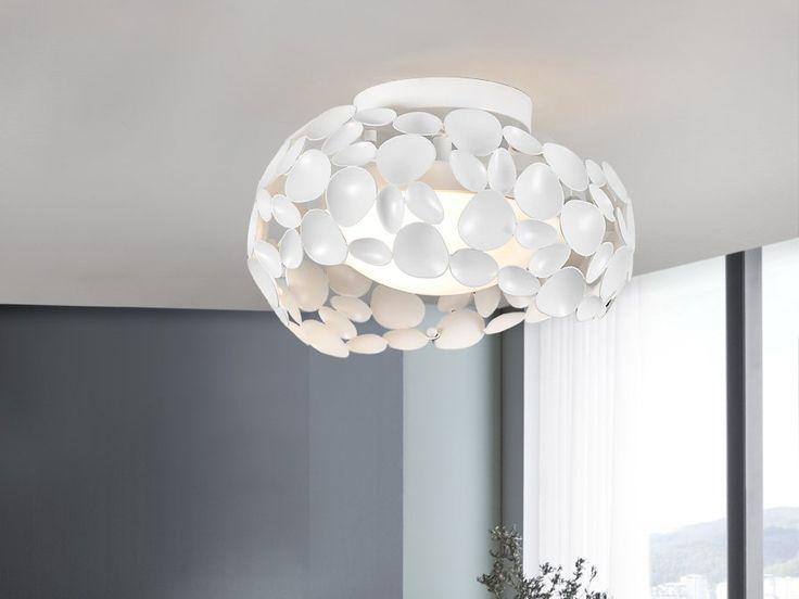 Plafón de techo blanco Ø 32 G9 Led Narisa 266909 de Schuller [266909] - 192,00€ :