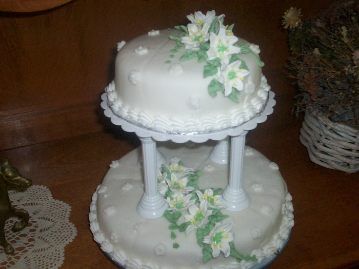 Cake Decorating Classes Wedding : 11 best images about Baked goods I ve made on Pinterest ...