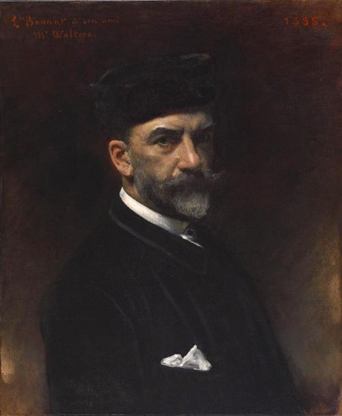 Selfportrait // Leon Bonnat, french academic painter (1833-1922)