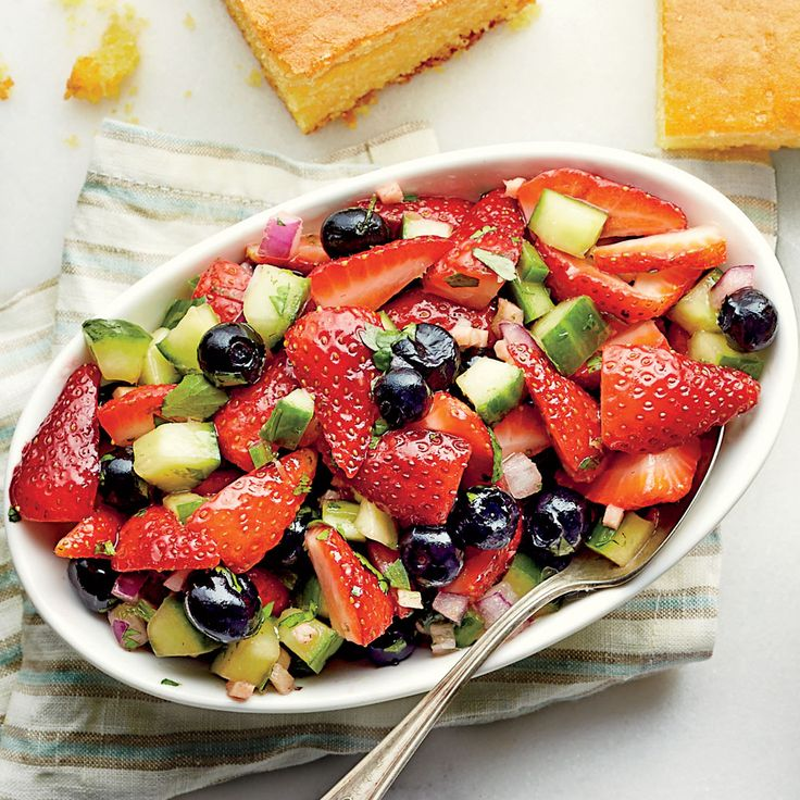 Strawberry-Blueberry Relish - Chowchow Recipes To Relish - Southern Living