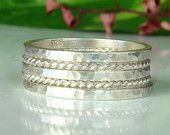 five pieces ring ,sterling silver 925,Stacking Rings