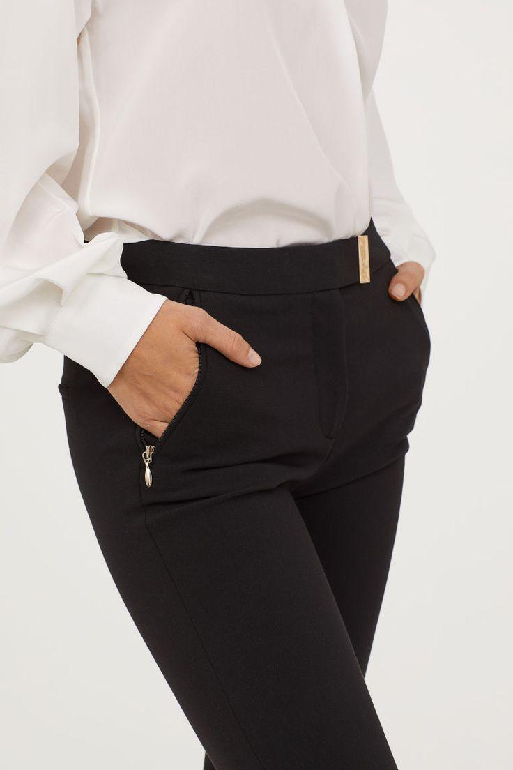 Suit trousers - Black - Ladies | H&M 2