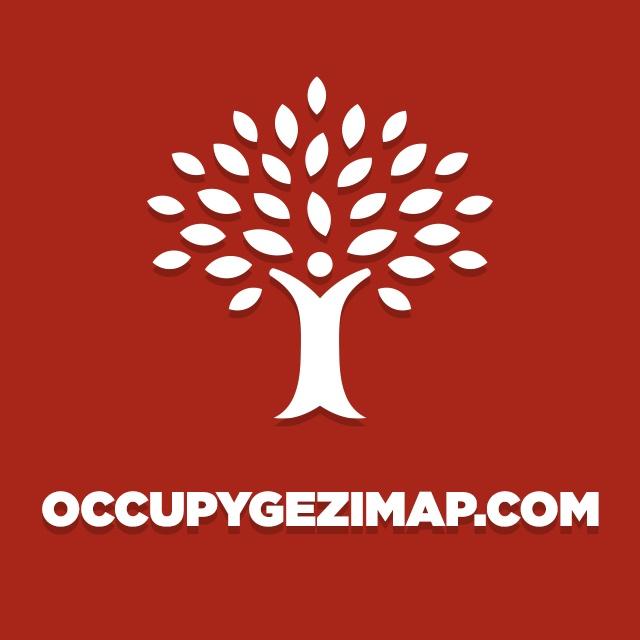 #occupygezi Haritası
