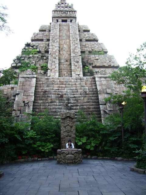 Aztec temple in Yucatan, Mexico would be a place I would stop by while going through the country. The Aztecs have so much history and are so famous it would be hard no to go in see these temples.