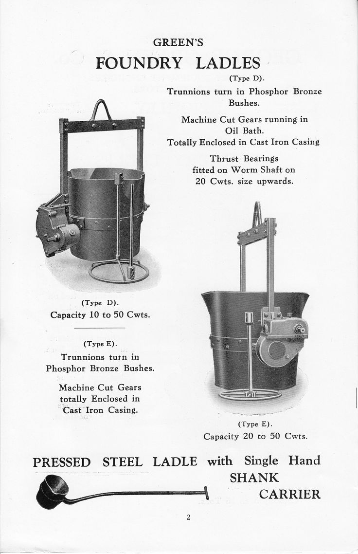 Foundry Ladles Brochure