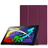 Fintie Lenovo Tab 2 A10-30 / Tab 2 A10-70 Hülle - Ultra Slim Superleicht Schutzhülle Tasche mit auto Sleep / Wake Funktion für Lenovo Tab 2 A10-70 / Tab 2 A10-70L / Tab 2 A10-70F / Tab 2 A10-30 / Tab 2 A10-30F / Tab 2 A10-30L / Tab 3 10 Business 10,1 Zoll Tablet - Lila