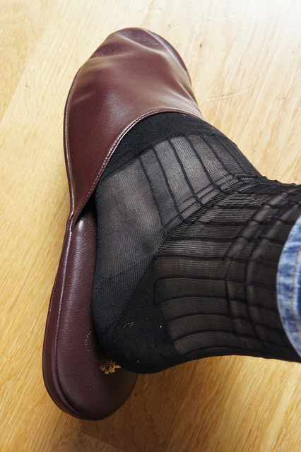 Gold-toe sock fetish