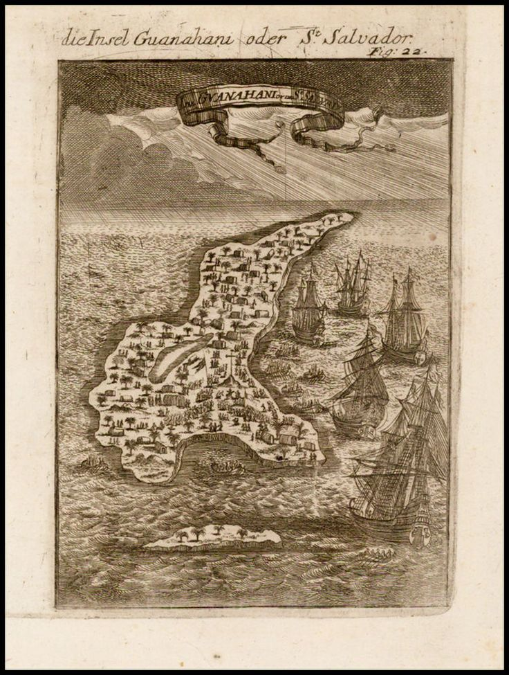 North America Map In 1750%0A Salvador  Columbus u     First Landing In The New World   Barry Lawrence  Ruderman Antique Maps Inc