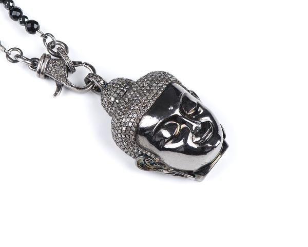 Buddha Diamond Pendant & Chain – Autobahnlife
