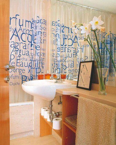 M s de 1000 ideas sobre cortinas de ba o cuarto de ba o en - Cortinas para cuartos de bano ...
