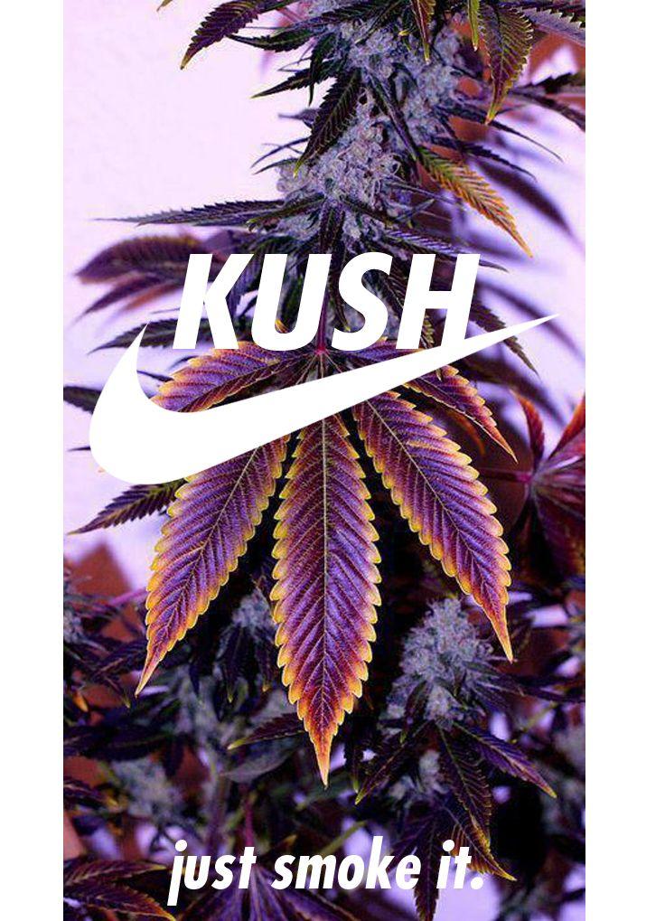 Nike Kush (Just Smoke It) - Phone Wallpaper/Background/Screensaver