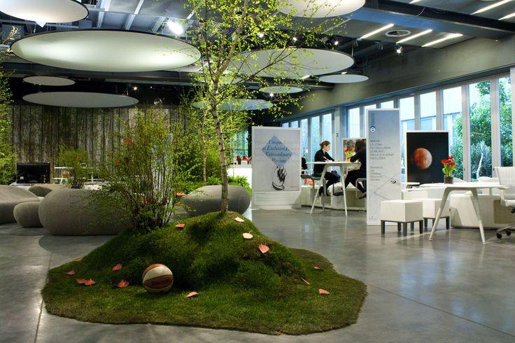 Proyecto rea de trabajo puestos de trabajo oficina for Modelos de oficinas