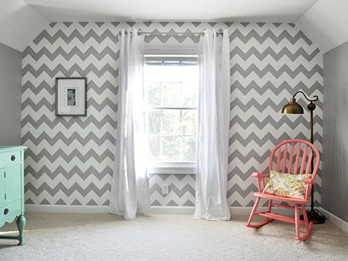 Graphic Gray - Wall pattern and color